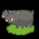 Hippopotamus Animal Icon