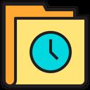 Time Folder History Folder Icon