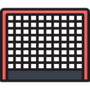 Hockey Goal Post Icon