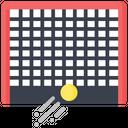 Artboard Hockey Goal Post Goal Icon