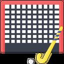 Artboard Hockey Goal Post Hockey Net Icon