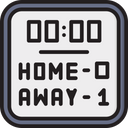 Hockey Scoreboard Icon