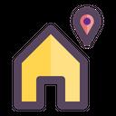 Home Location Maps Icon