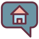 Home Chat Icon