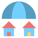 Insurance Umbrella Property Icon