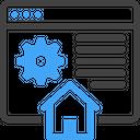 Web Hosting Server Icon