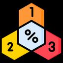 Honeycomb Chart Icon