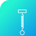 Hook Spring Science Icon