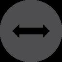 Horizontal Move Icon