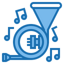 Horn Megaphone Man Icon