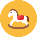 Horse Wooden Icon