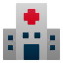 Hospital Building Healthcare Icon