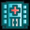 Hospital Building Location Icon