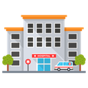 Hospital Clinic Pharmacy Icon