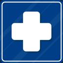 Hospital Sign Icon