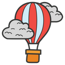 Hot Air Balloon Air Balloon Weather Balloon Icon