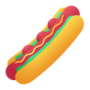 Hot Dog Meat Sausage Icon