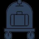 Hotel Trolley Icon