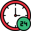 Hour Hour Working Hour Work Icon