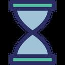 Hourglass Egg Timer Retro Timer Icon