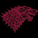 House Stark Wolf Icon