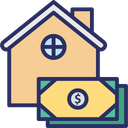 House Cost House Financing Mortgage Icon