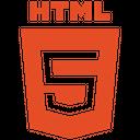 Html Plain Wordmark Icon