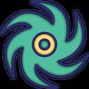 Hurricane Storm Element Icon
