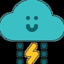 Hurricane Tornado Typhon Icon
