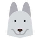 Husky dog Icon