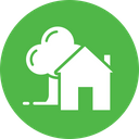 Hut Farm House Icon