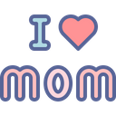 Mother Day Love Icon