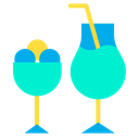 Juice Mocktail Drink Icon