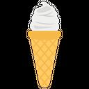 Icecream Cone Icecream Cream Dessert Icon