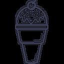 Ice Cream Cup Ice Cream Dessert Icon