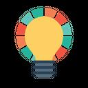 Idea Bulb Innovation Icon
