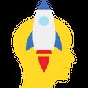 Idea Develop Idea Generation Launch Idea Icon