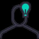 Idea Lamp Creative Icon