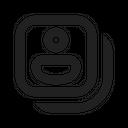Person Board Card Person Identity Icon
