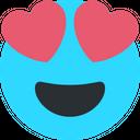 In Love Emoji Romantic Icon