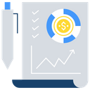 Income analysis Icon