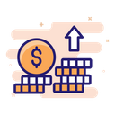 Increase Profit Profit Growth Icon