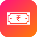 Indian Currency Rupee Icon