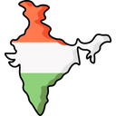 India Map Icon
