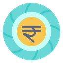 Indian Rupee India International Icon