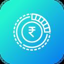 Indian Rupee Money Icon