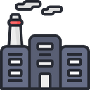 Industrial Fuel Industry Factory Icon