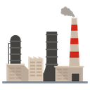 Industry Factory Outlet Mill Icon