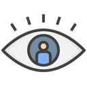 Influencer View Influencer Viewer Vision Icon