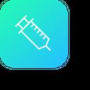Injection Syringe Vaccine Icon